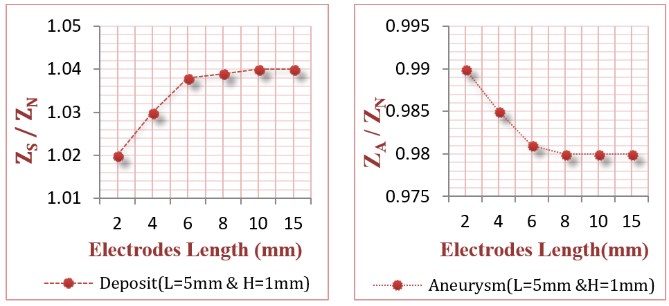 Figure 15 Electrodes with different lengths